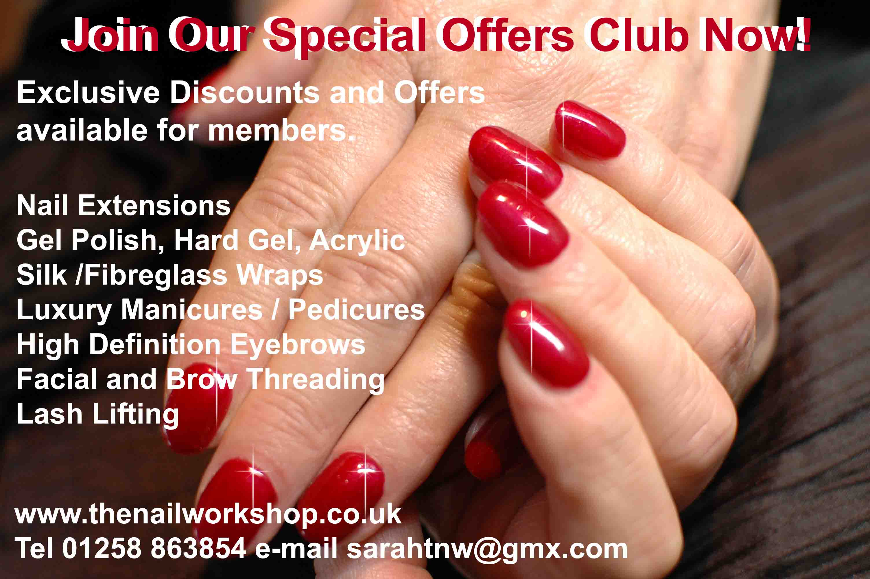 The Nail Workshop Special Offers Club